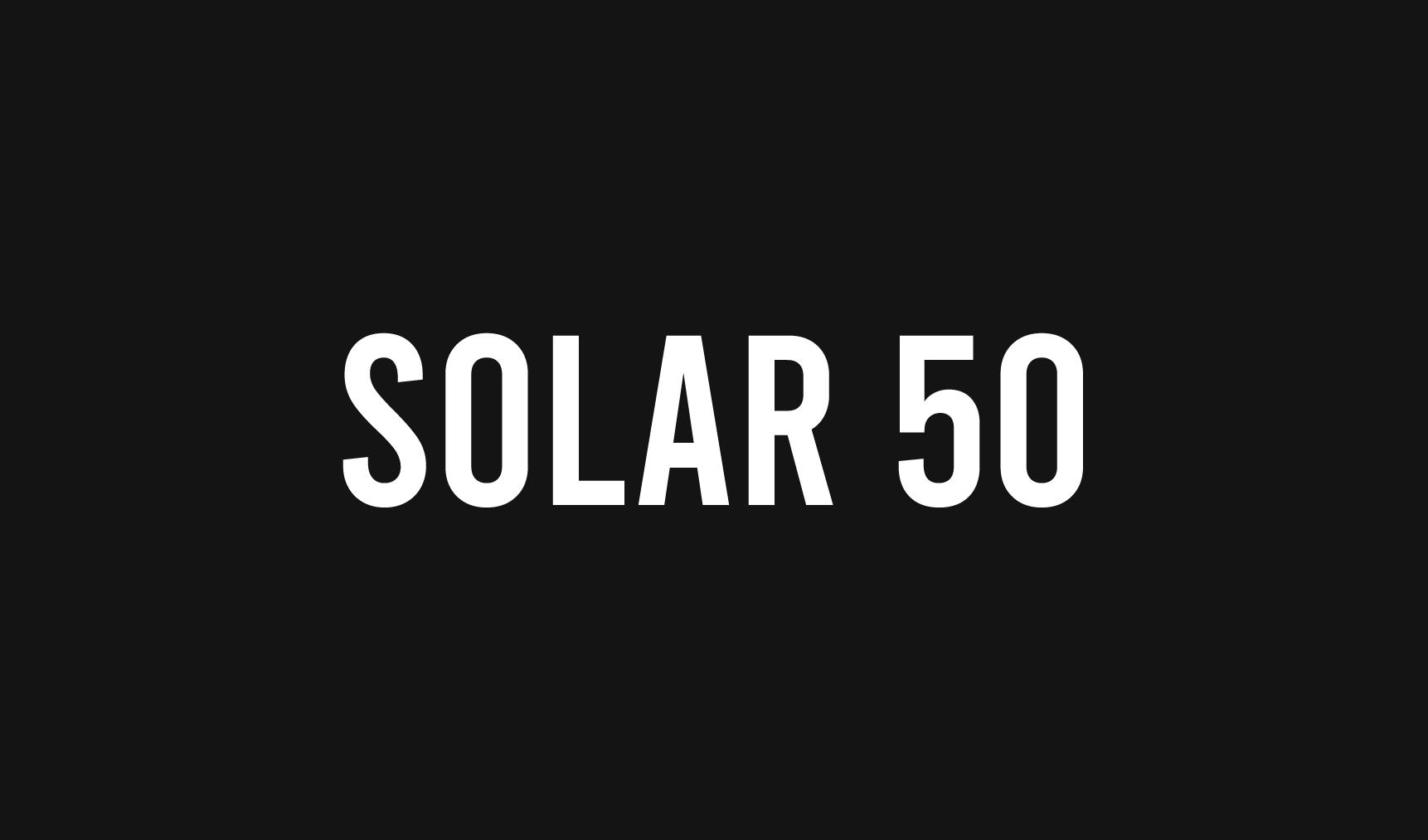 Solar 50